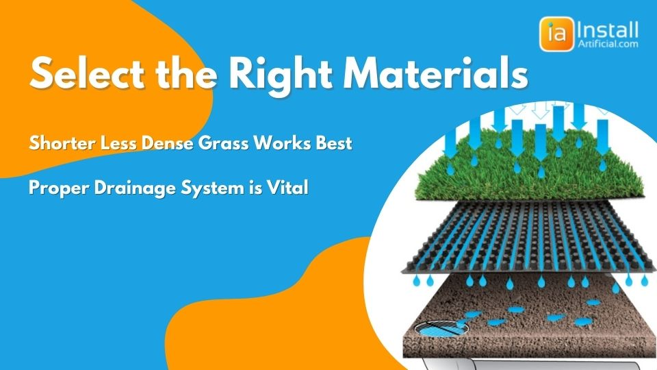 select the right materials for k9 pet-friendly artificial grass installation